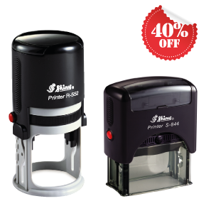 40% off Self-inkers