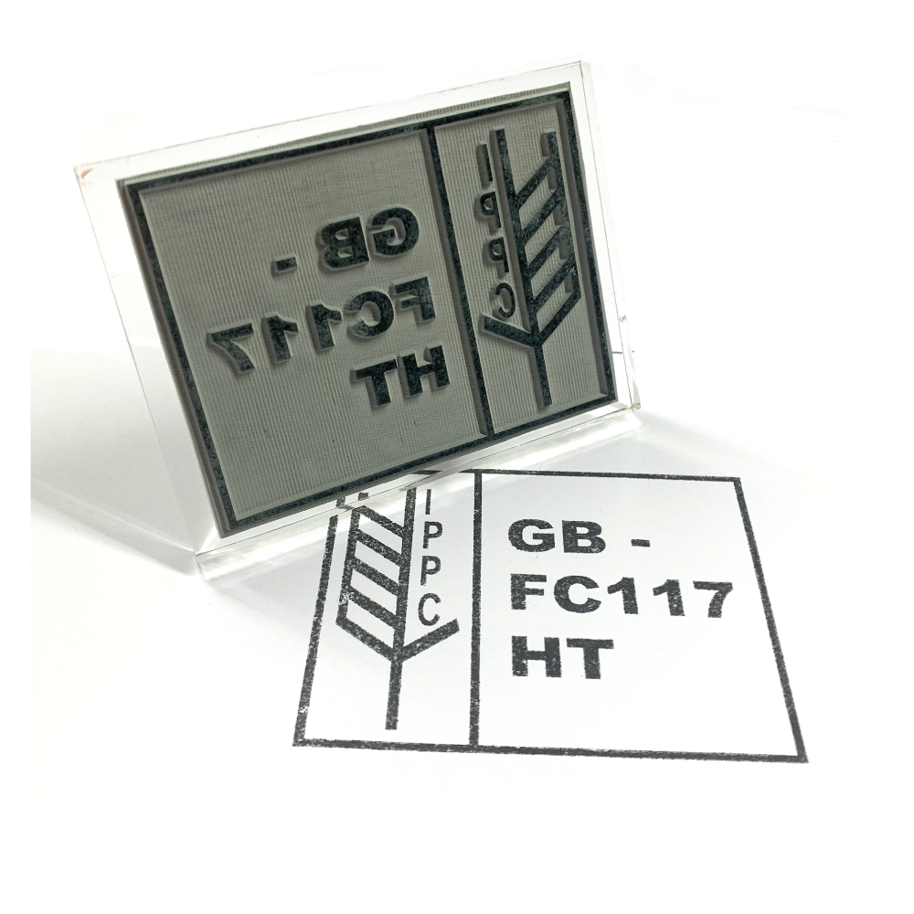 IPPC ISPM 15 Rubber Stamps