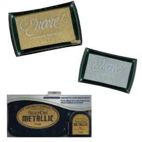 Metallic Ink Pads