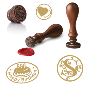 Shiny Wax Seals Stock Designs