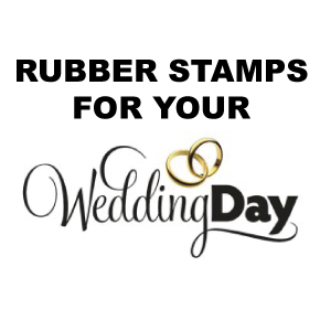 Wedding Day Stamps